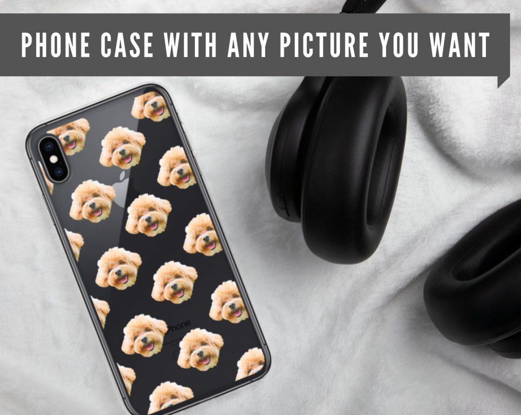 Custom Dog Phone Case (WAtelier by Hanna – Etsy)