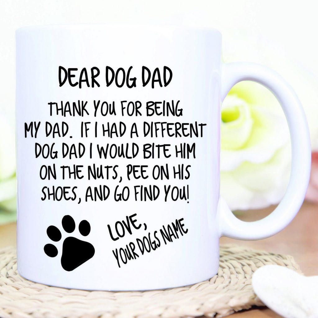 Custom Dog Dad Mug (Bushel Of Love – Etsy)