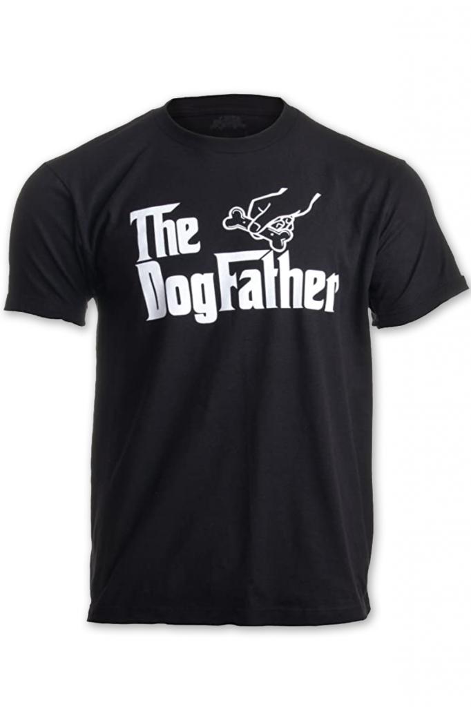 'The Dogfather' Funny Tshirt (Amazon)
