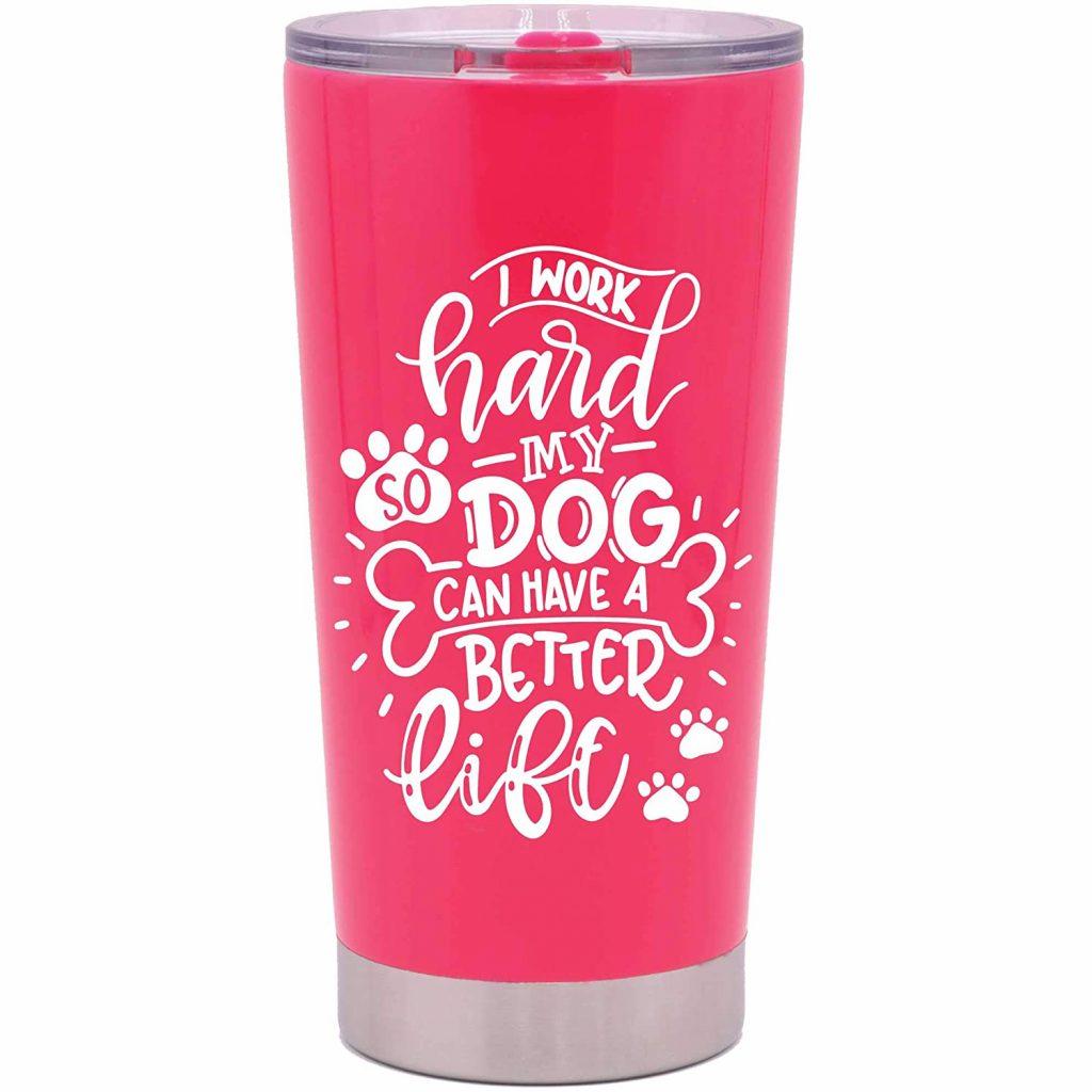 Dog Lover Travel Mug (Amazon)
