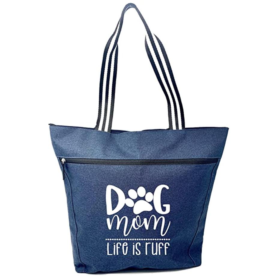 Dog Mom Tote Bag (Amazon)