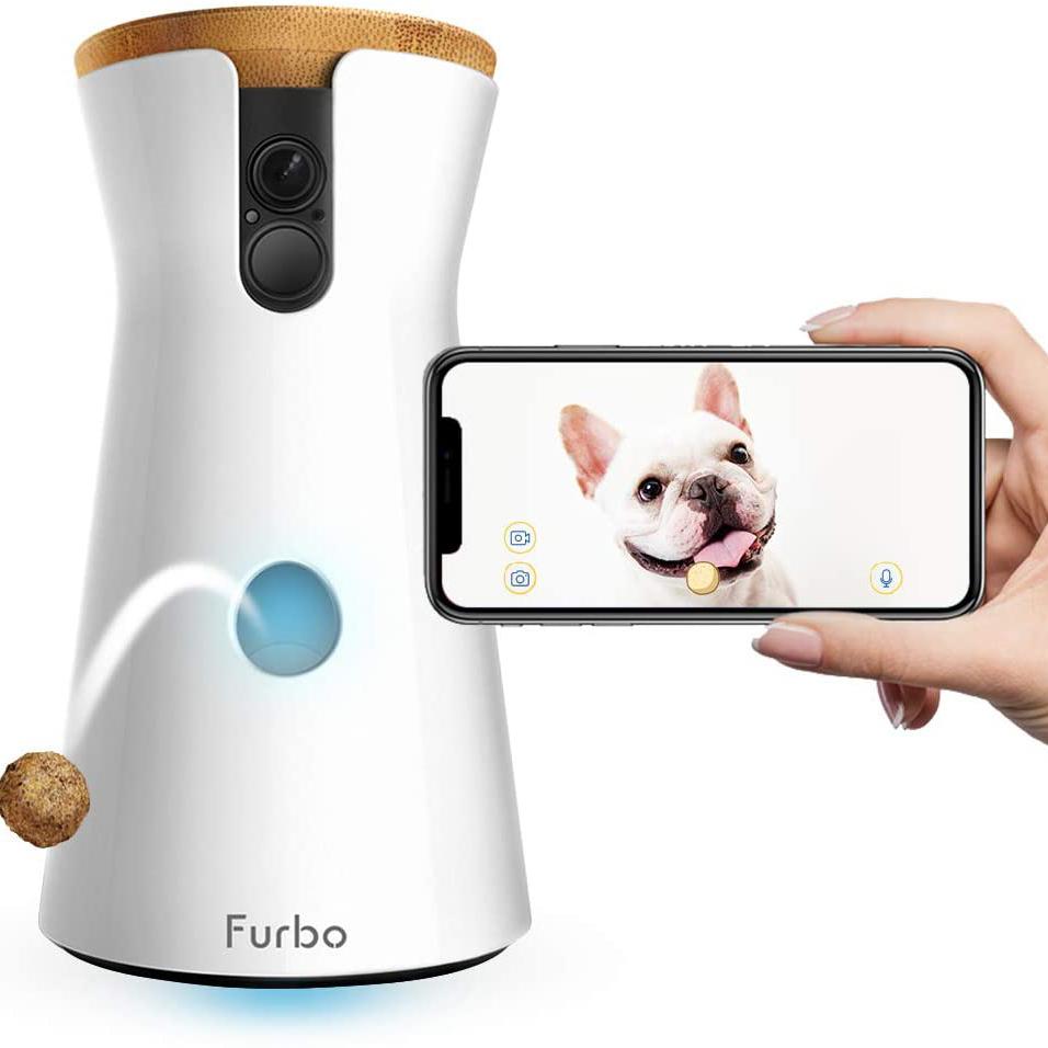 Furbo Treat Dispensing Dog Camera (Amazon)