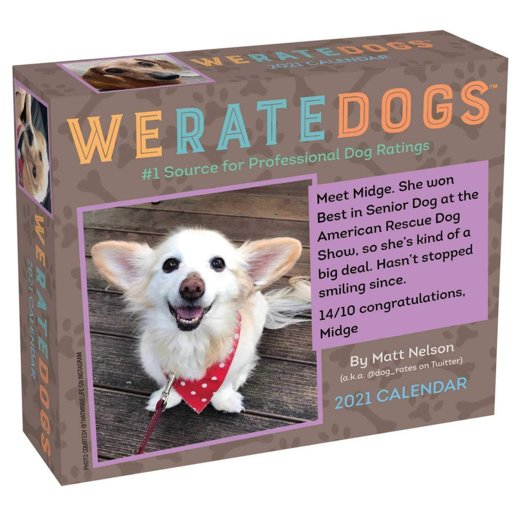 We Rate Dogs Day-to-Day Calendar (Amazon)