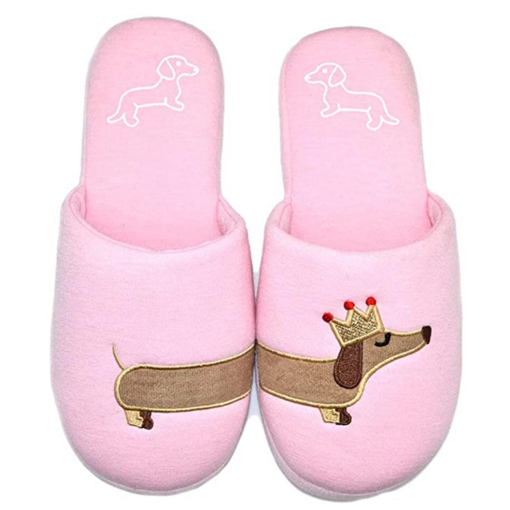 Dachshund Dog Slippers (Amazon)