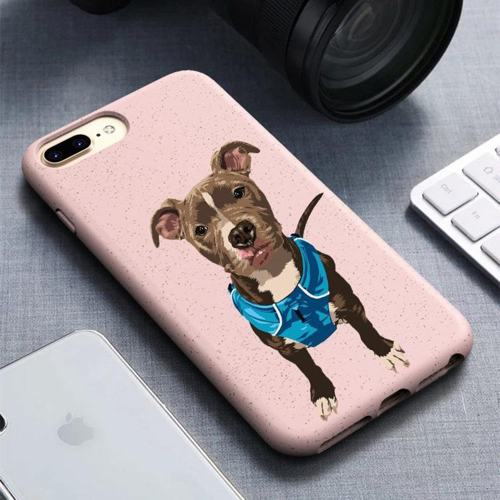Custom Pet Phone Case (North Legends - Etsy)