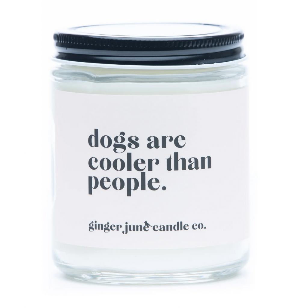 'Dogs are Cooler than People' Large Jar Candle (Nordstrom)