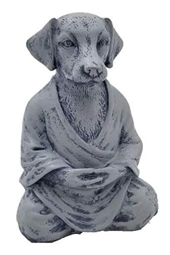 Zen Dog Yoga Statue (Amazon)