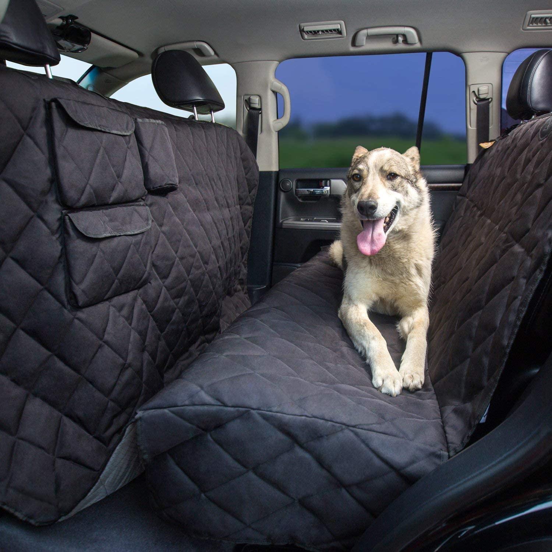 Best XXL Car Hammock for Dogs - Tapiona XXL Heavy Duty Dog Seat Cover via Amazon