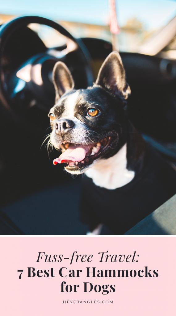 7 Best Car Hammocks for Dogs - Hey, Djangles.