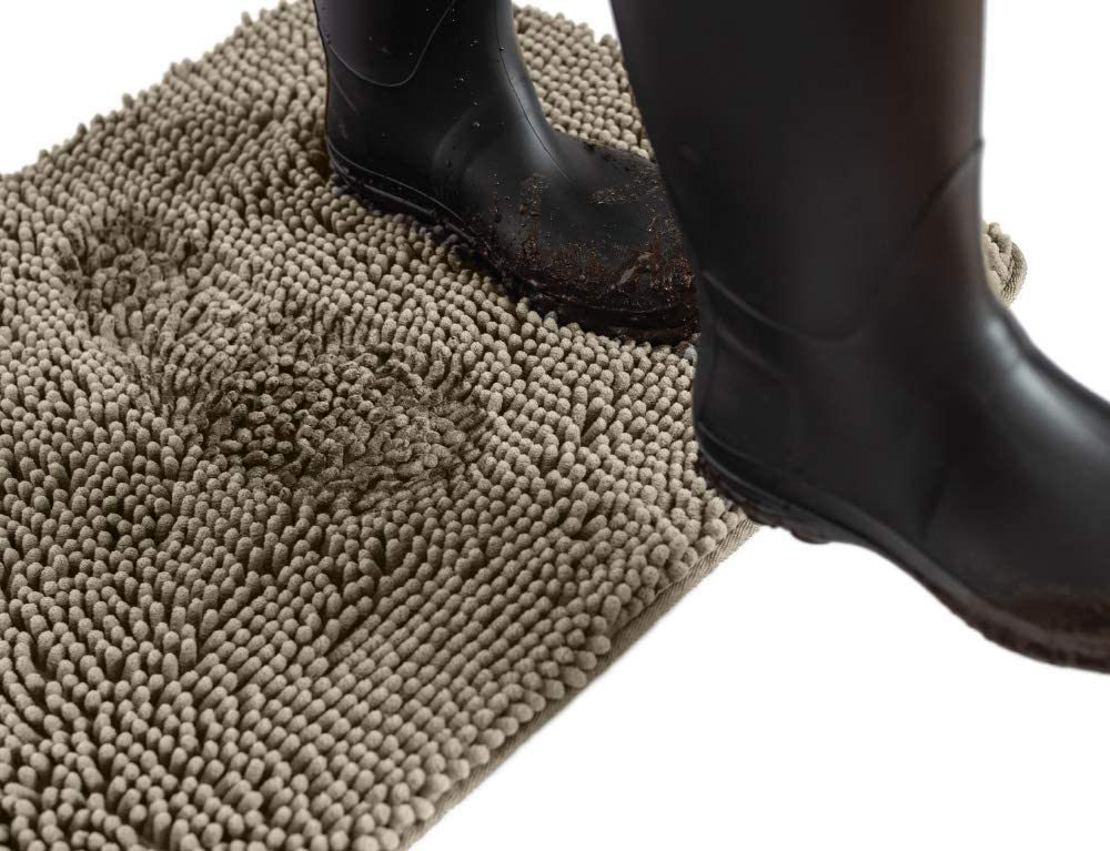 Best Door Mats for Dogs feat. Gorilla Grip Original Indoor Durable Chenille Doormat via Amazon