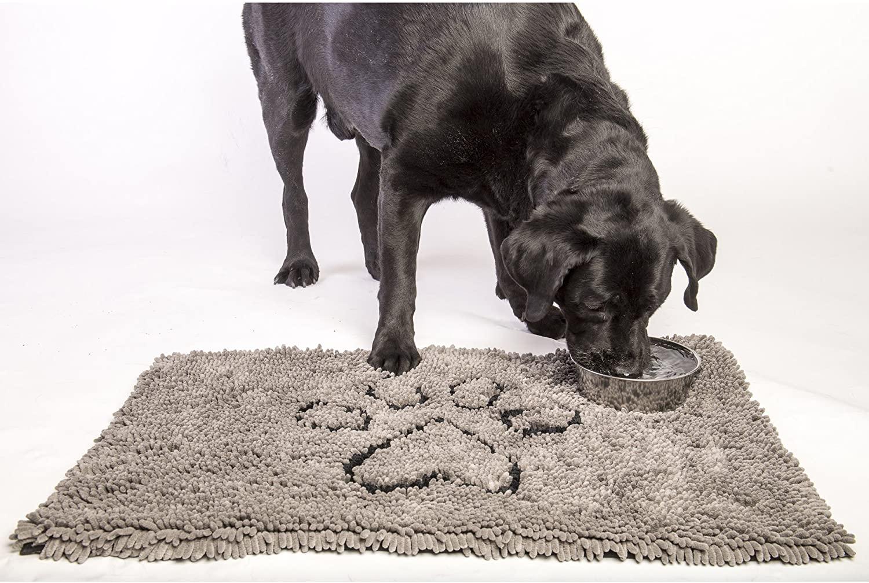 Best Door Mats for Dogs feat. Dog Gone Smart Original Dirty Dog Doormat via Amazon