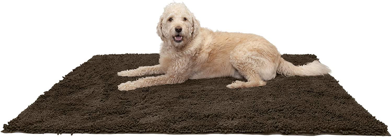 Furhaven Dog Shammy Towel Rug (Up to XXXL) via Amazon