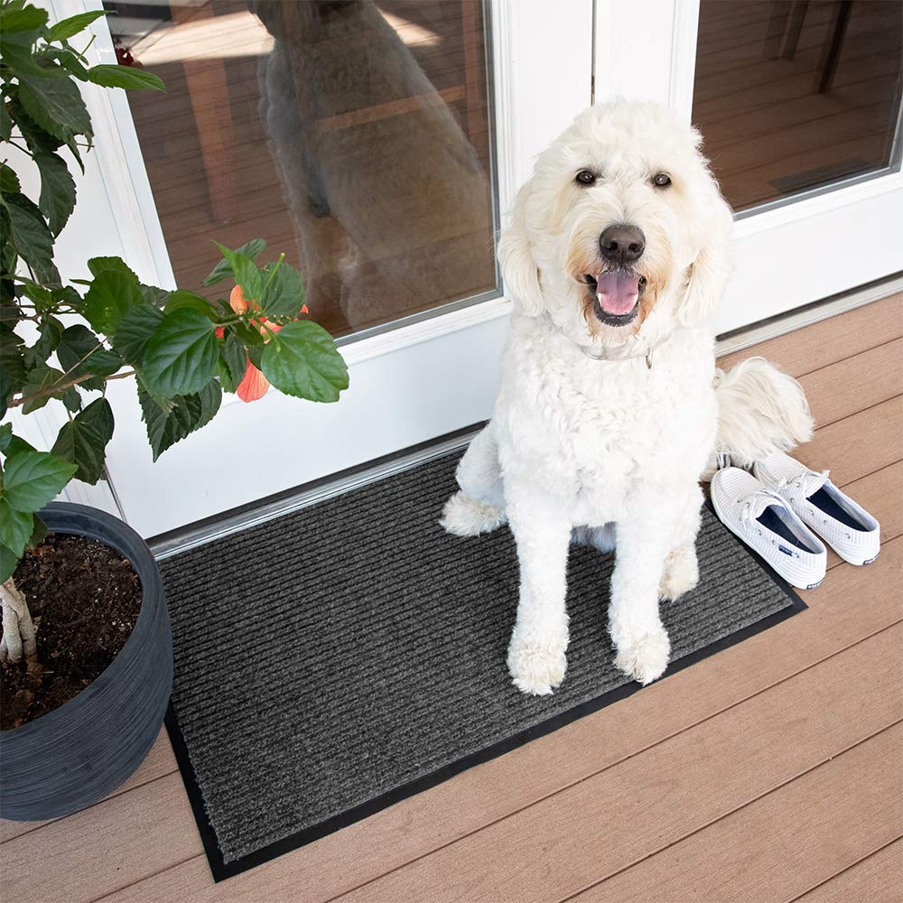 Best Door Mats for Dogs feat. Notrax 117 Heritage Rib Entrance Mat for Home or Office via Amazon