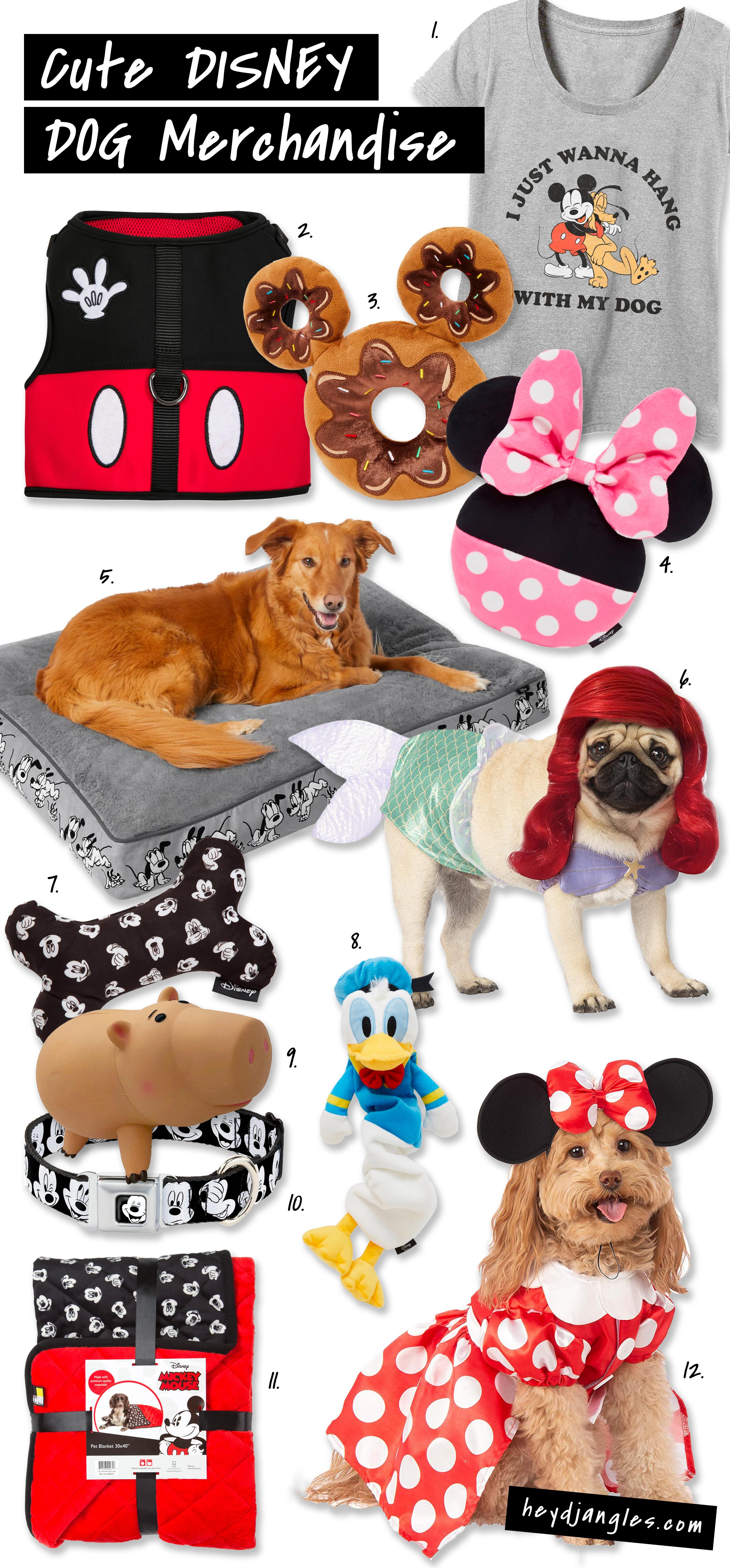 230+ Super Cute Disney Dog Names & Disney Dog Merchandise