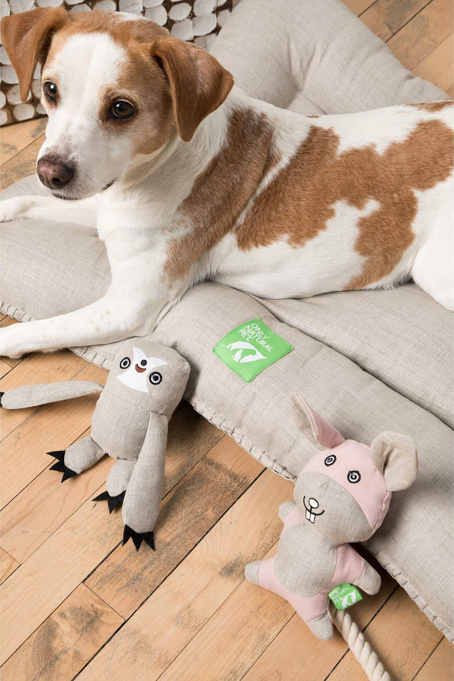 Only Natural Pet Eco-Friendly Hemp Pet Bed. Eco-Friendly Products for Dogs