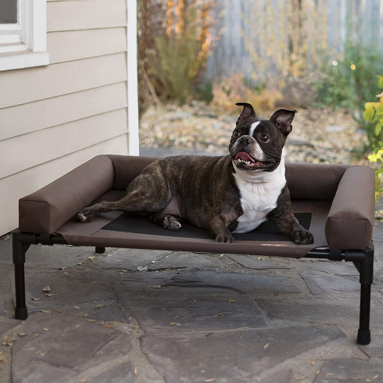 K&H PET PRODUCTS Original Bolster Pet Cot Elevated Pet Bed, image via K&H Pet Products