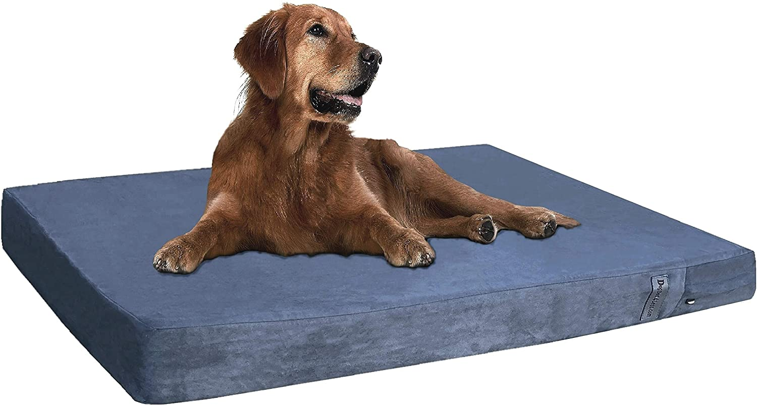 DOGBED4LESS Cooling Memory Foam Dog Bed, image via DogBed4Less/Amazon