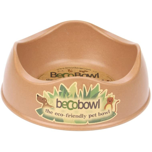 Beco Bowl Bamboo Dog Food/Water Bowl via Amazon, Eco-Friendly Products for Dogs
