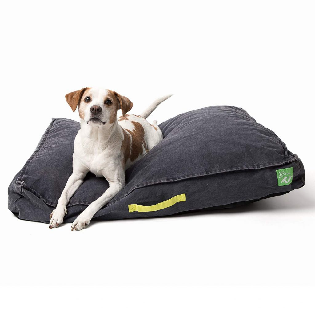 Only Natural Pet Eco-Friendly Organic Canvas Pet Bed, Eco-Friendly Products for Dogs