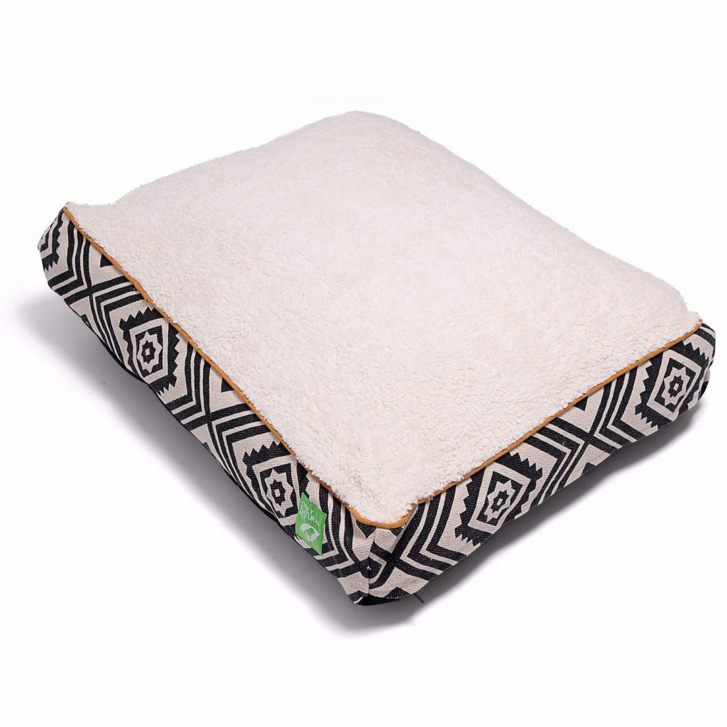 Only Natural Pet Organic Sherpa Pet Bed, Eco-Friendly Products for Dogs