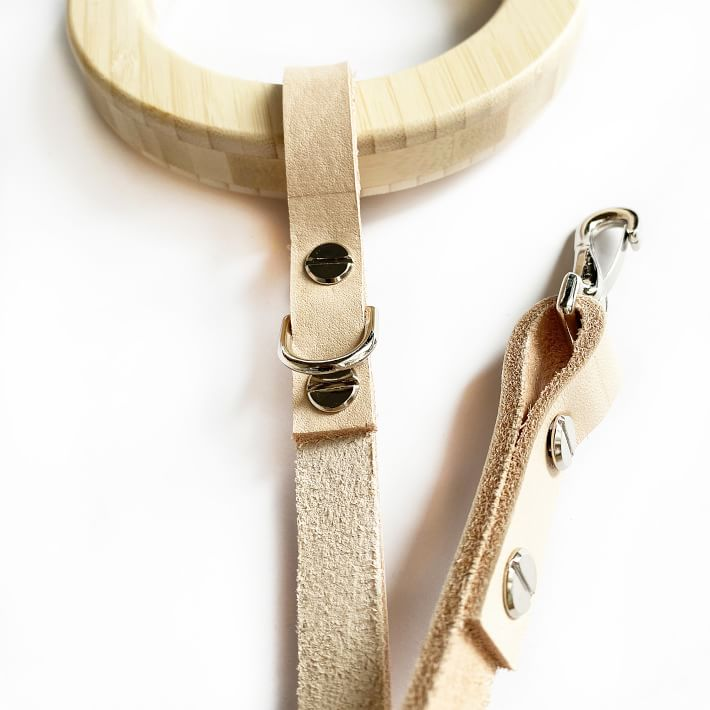 House Dogge B-Boo Leather Leash, Eco-Friendly Products for Dogs