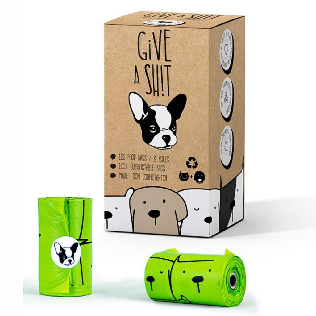 Give a Sh!t Compostable Dog Poop Bags via Amazon, Eco-Friendly Products for Dogs
