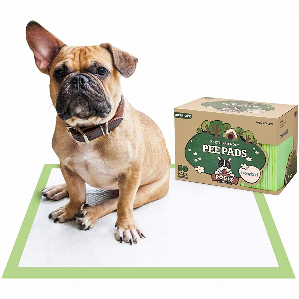 Pogi's Earth-Friendly Puppy Training Pads via Amazon, Eco-Friendly Products for Dogs