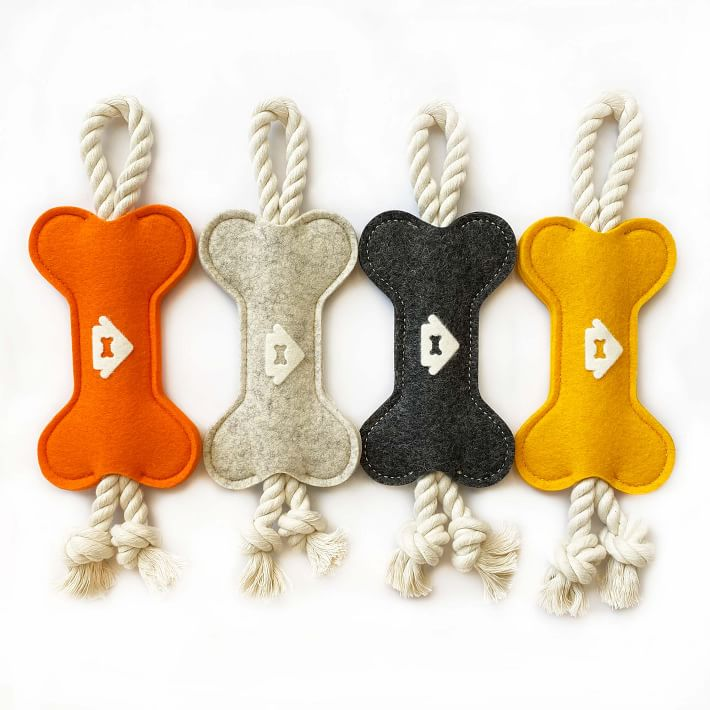 House Dogge Wool Binky Tug Toy, Eco-Friendly Products for Dogs