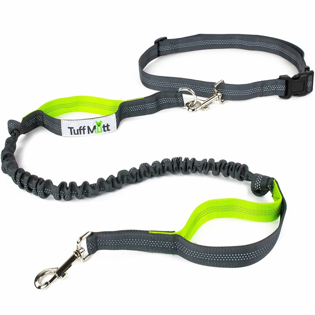 8 Best Hands-Free Leash Options for Dogs feat. TUFF MUTT Hands-Free Dog Leash via Amazon