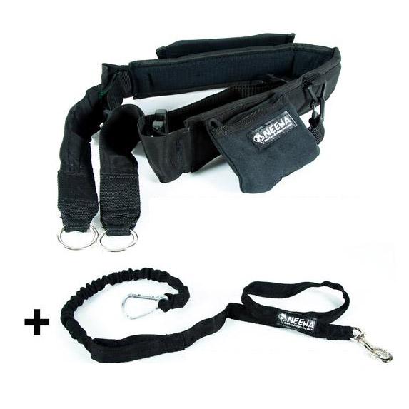 NEEWA Hands-Free Trekking Belt + Tug Line with Bungee via Amazon