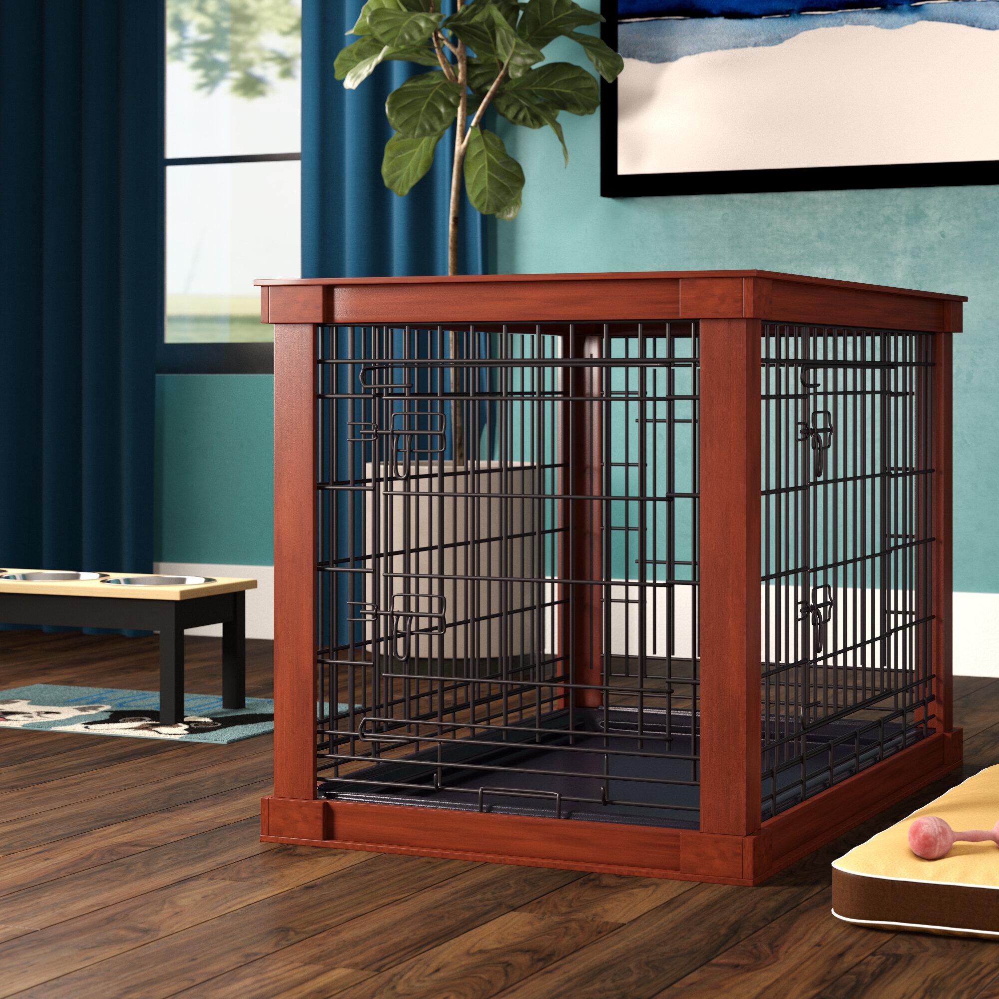 Archie & Oscar 'Ansel' Deluxe Pet Crate via Wayfair