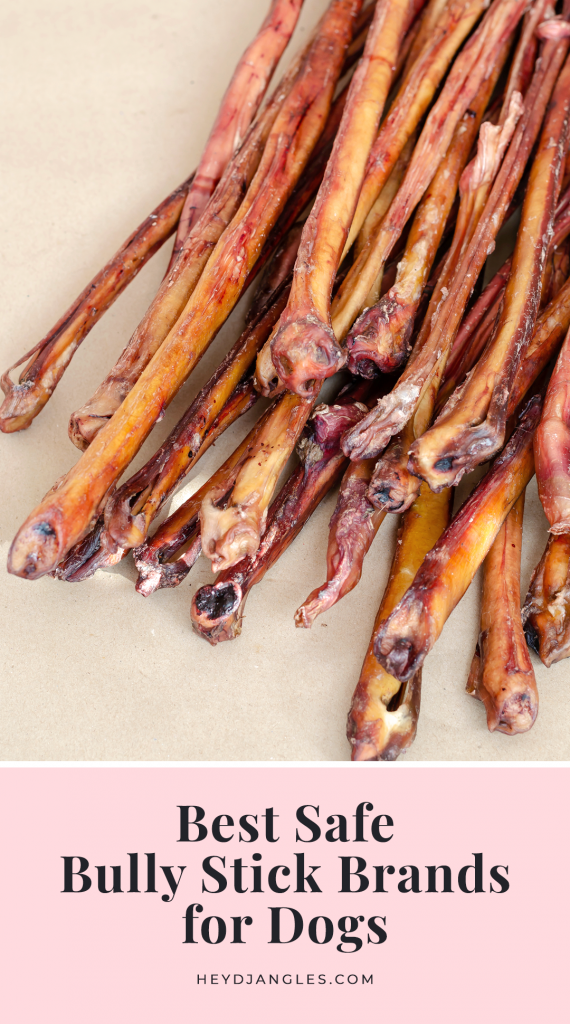6 Best Bully Sticks for Dogs - feat. brands such as Natural Farm, Nature Gnaws, EcoKind, Pawstruck, Jack&Pup and ValueBull. Pizzle sticks, bull pizzle, all-natural beef chews for dogs.