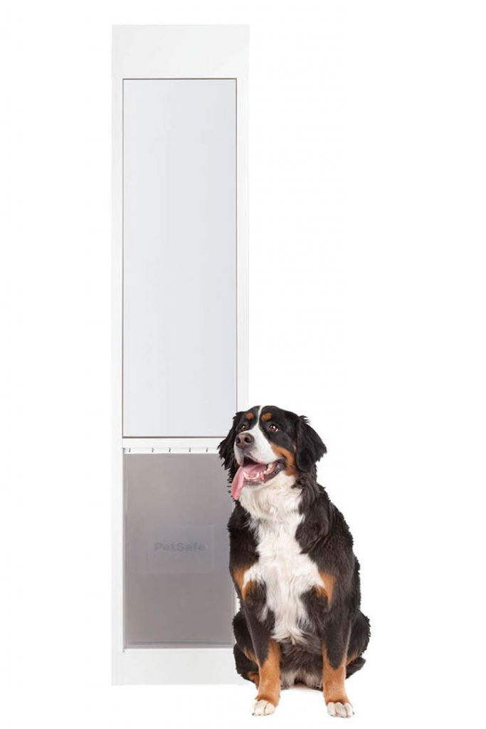 12 Practical Doggy Doors for Large Dogs (up to 220 lbs) feat. PETSAFE Freedom Aluminum Patio Panel Pet Door