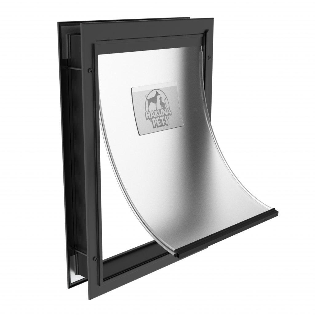 12 Practical Doggy Doors for Large Dogs (up to 220 lbs) feat. HAKUNA PETS Deluxe Aluminium Pet Door