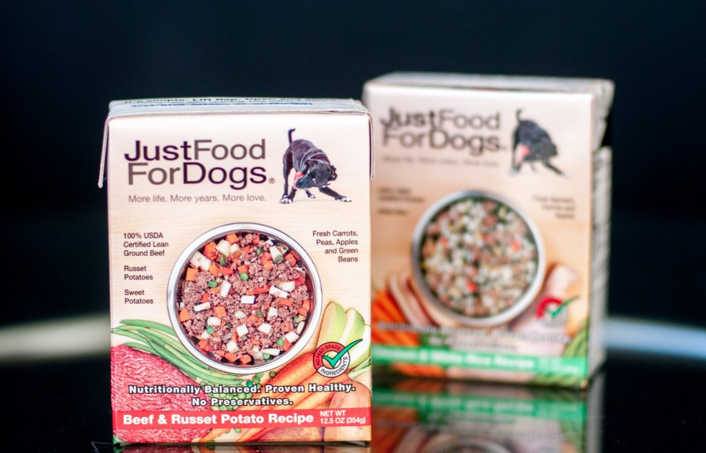 Just Food for Dogs pantry-fresh food for dogs delivered. Image via Just Food for Dogs.