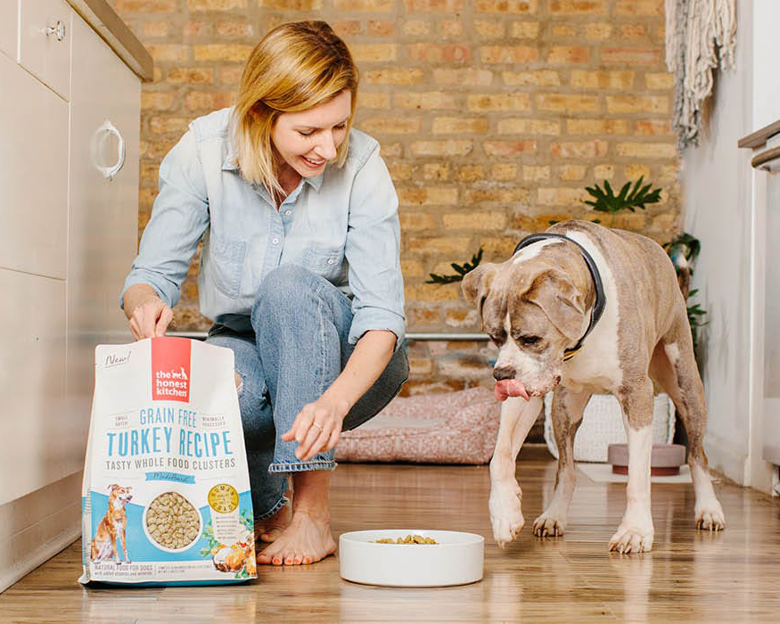 The Honest Kitchen human-grade food for dogs. Image via The Honest Kitchen.