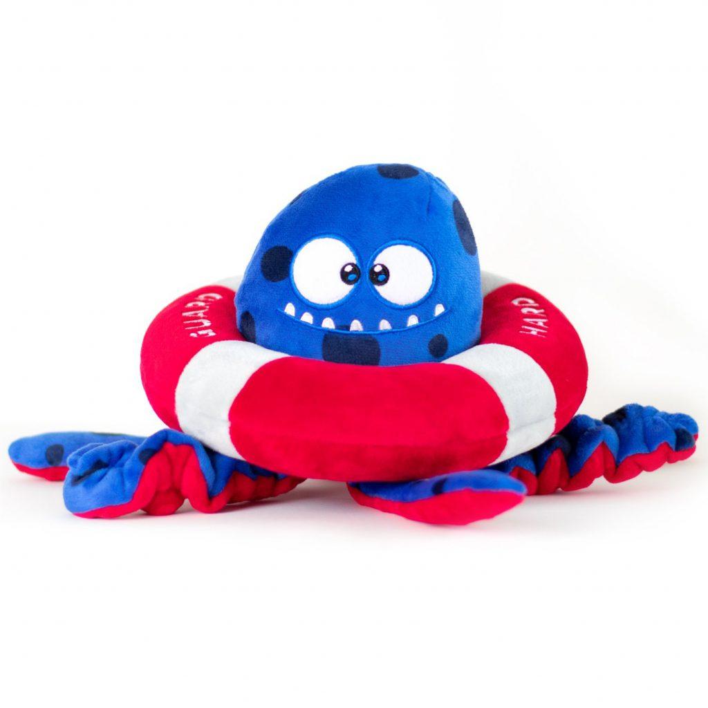 Tough Plush Toys for Dogs feat. BULLTUG Tugtopus Tug Toy via Amazon