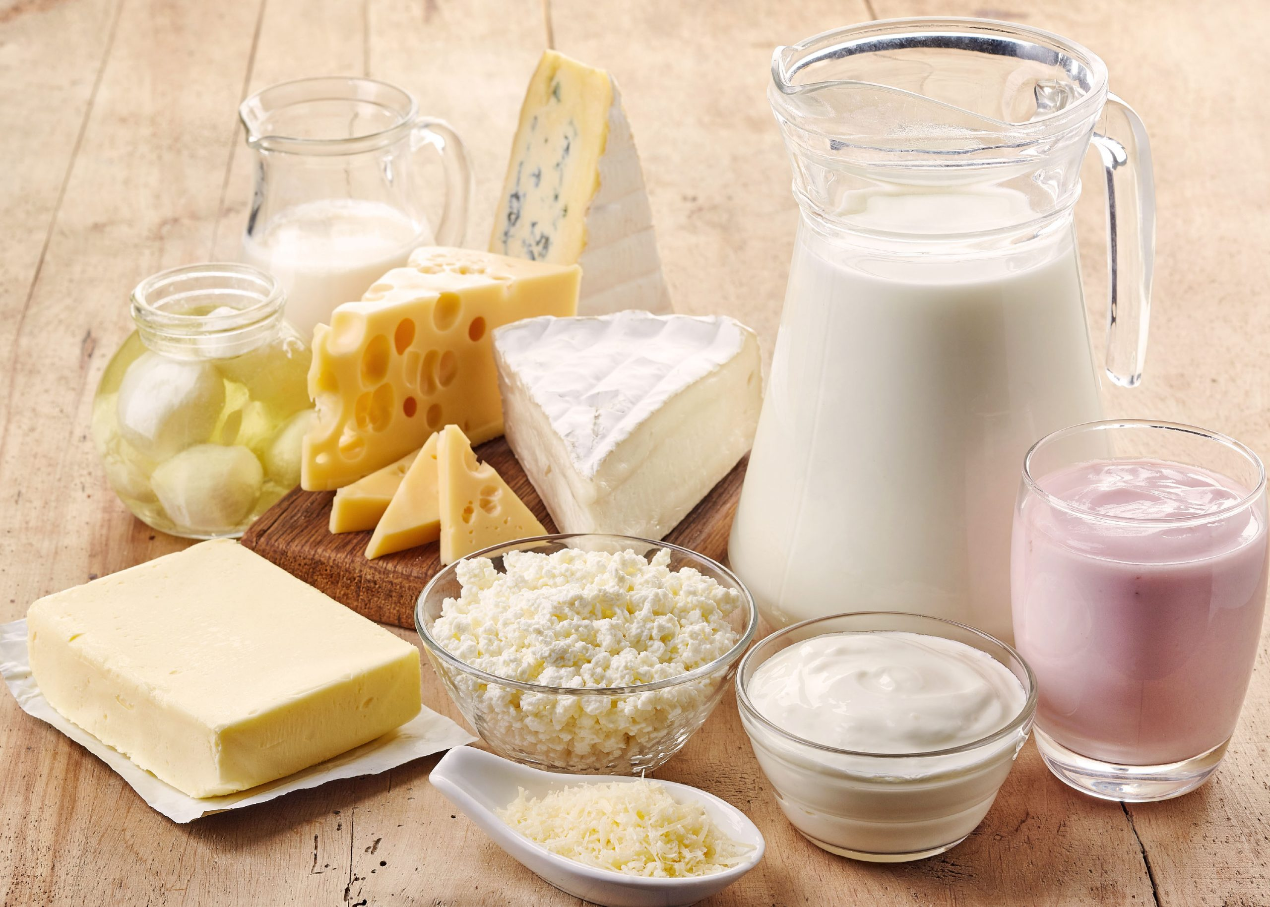10 Foods That Give Dogs Gas - Dairy products
