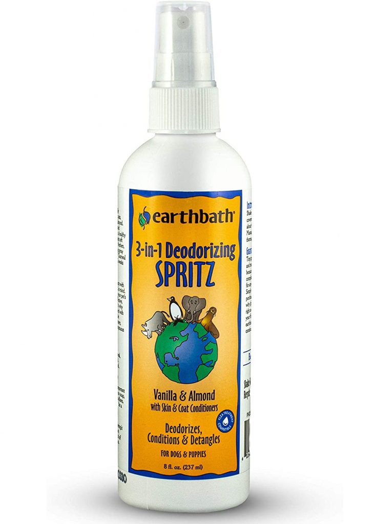 EARTHBATH 3-in-1 Deodorizing Spritz for Dogs and Puppies