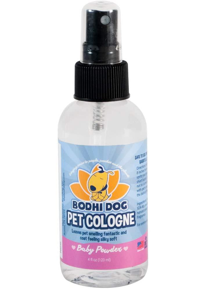 BODHI DOG Natural Pet Cologne via Amazon