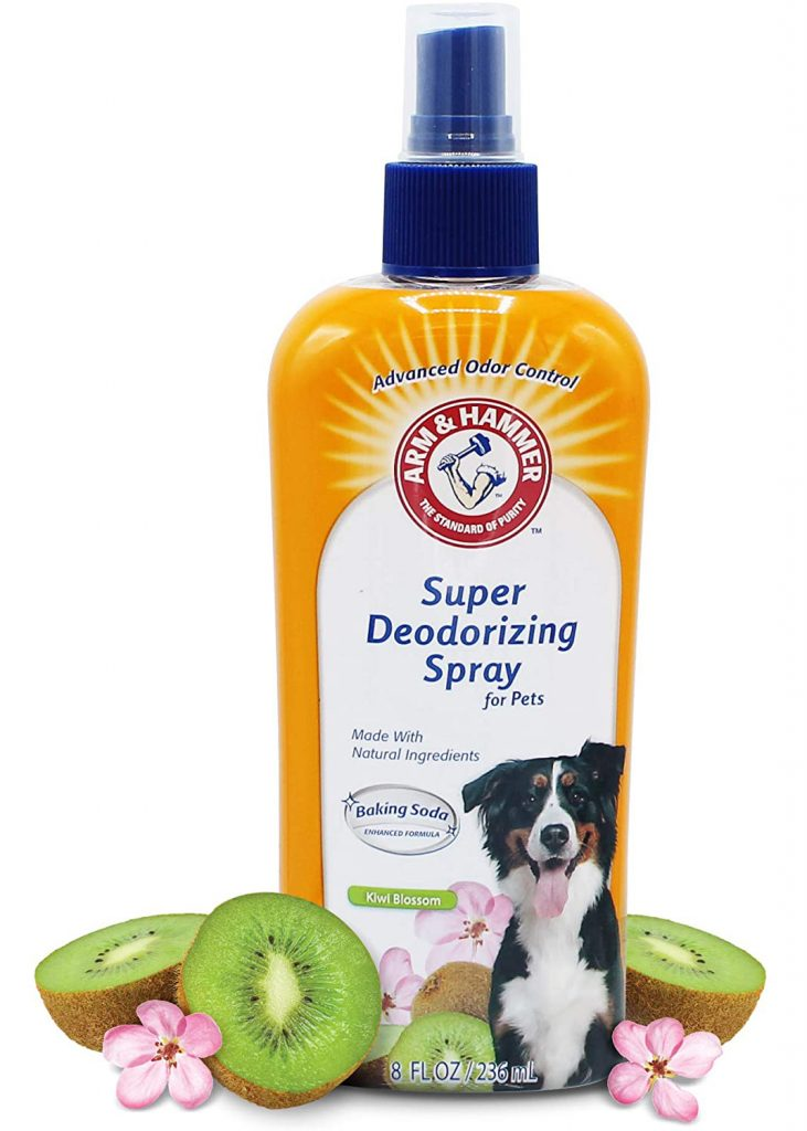 ARM & HAMMER Super Deodorizing Spray for Pets via Amazon
