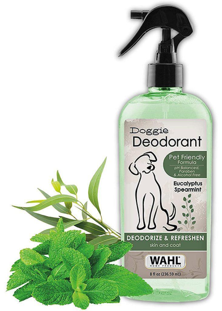 14 Best Dog Deodorizing Spray Options for Stinky Pups feat. WAHL Doggie Deodorant via Amazon