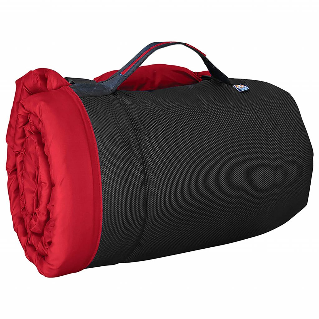 10 Best Folding Dog Bed Options for Camping and Travel feat. KURGO Loft Wander Travel Dog Bed via Amazon