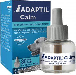 Adaptil Calm Diffuser kit for Dogs via Amazon.